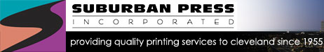 Suburban Press, Inc. - Cleveland Printer, Ohio, Commercial Printing, Graphic Design, Logo Creation, Binding, Printing Press